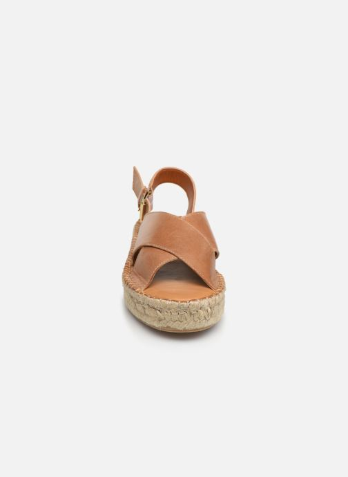 Sandalen Alohas Sandals Crossed platform Bruin model