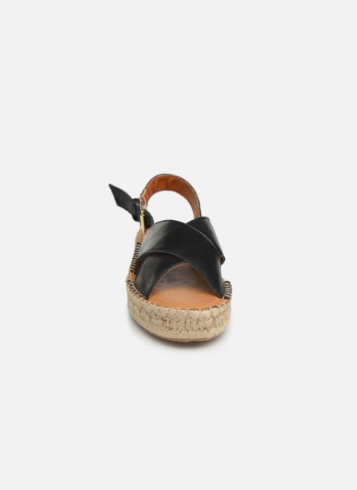 Sandalen Alohas Sandals Crossed platform Zwart model