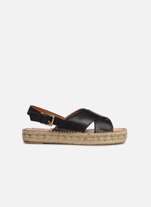 Sandalen Alohas Sandals Crossed platform schwarz ansicht von hinten