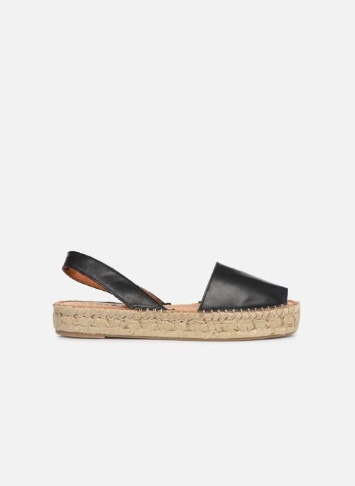 Sandales et nu-pieds Alohas Sandals Ibizas Platform Noir vue derrière