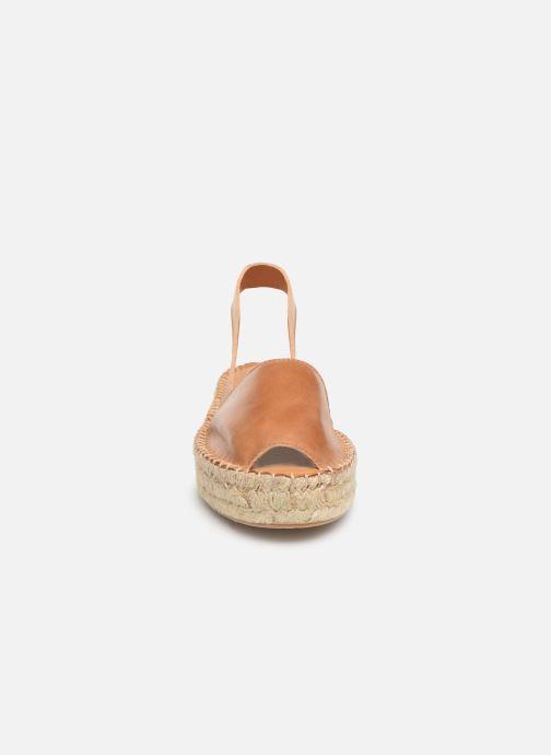 Sandalen Alohas Sandals Ibizas Platform Bruin model