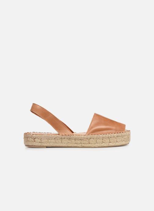 Sandalen Alohas Sandals Ibizas Platform Bruin achterkant
