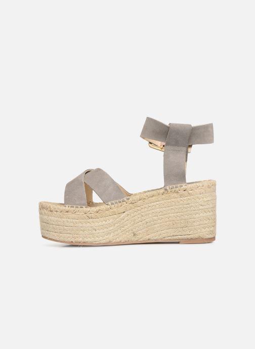 Sandales et nu-pieds Alohas Sandals Kailua Gris vue face