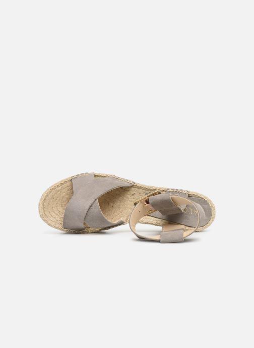 Sandales et nu-pieds Alohas Sandals Kailua Gris vue gauche
