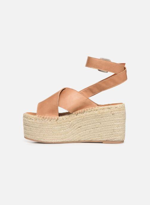 Sandales et nu-pieds Alohas Sandals Vegas Marron vue face