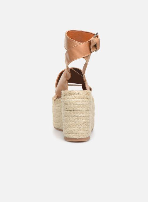 Sandales et nu-pieds Alohas Sandals Vegas Marron vue droite