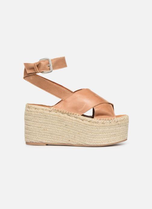 Sandales et nu-pieds Alohas Sandals Vegas Marron vue derrière