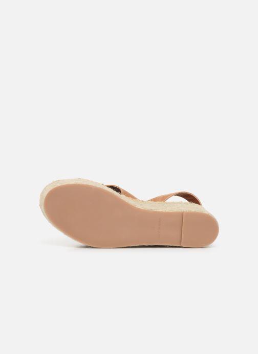 Sandales et nu-pieds Alohas Sandals Vegas Marron vue haut