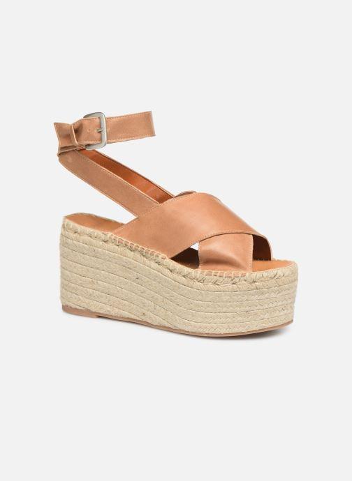 Sandales et nu-pieds Alohas Sandals Vegas Marron vue détail/paire