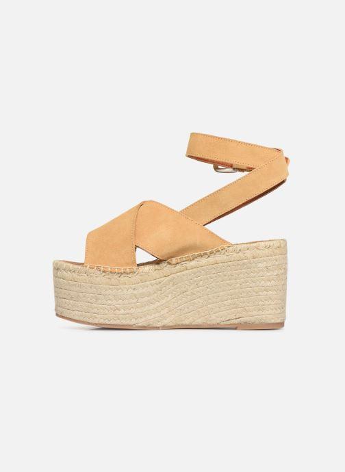 Sandales et nu-pieds Alohas Sandals Vegas Jaune vue face