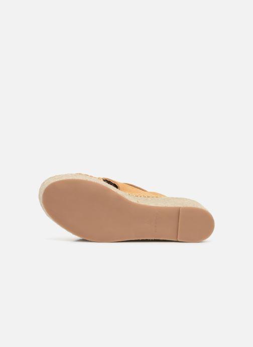 Sandales et nu-pieds Alohas Sandals Vegas Jaune vue haut