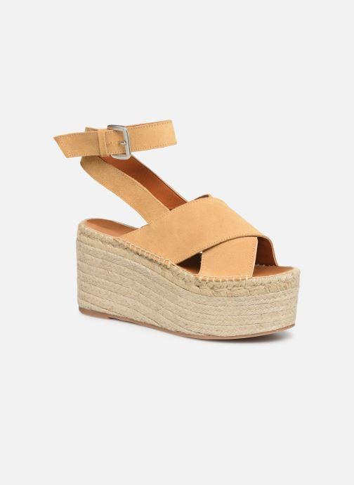 Sandales et nu-pieds Alohas Sandals Vegas Jaune vue détail/paire