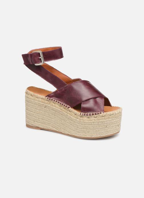 Sandalen Alohas Sandals Vegas Bordeaux detail