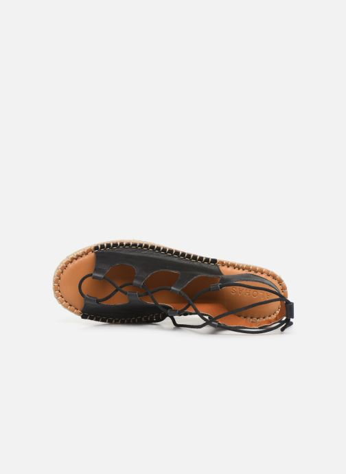 GladiatornoirSandales Alohas Sarenza358853 Et Nu Chez Sandals pieds g6f7by