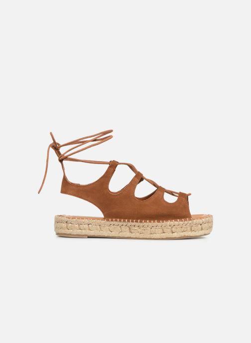 Sandales et nu-pieds Alohas Sandals Gladiator Marron vue derrière