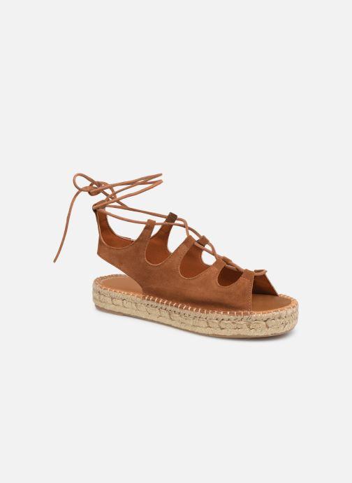Sandales et nu-pieds Alohas Sandals Gladiator Marron vue détail/paire