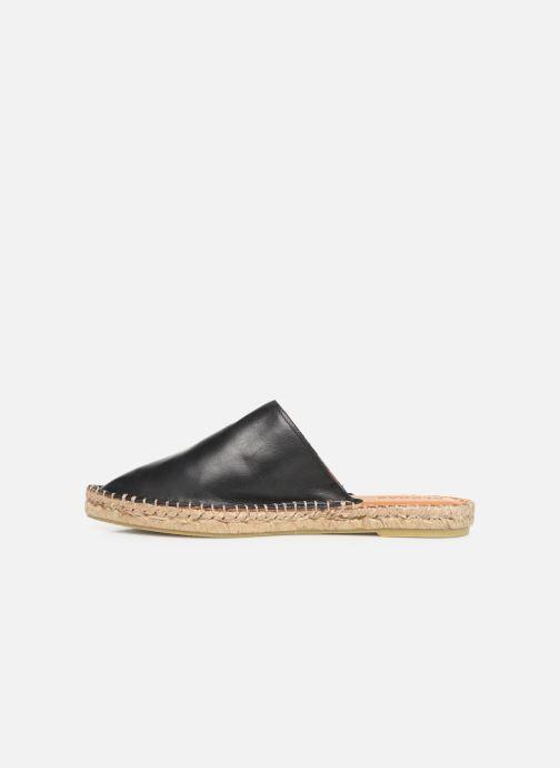 Wedges Alohas Sandals Babucha Zwart voorkant