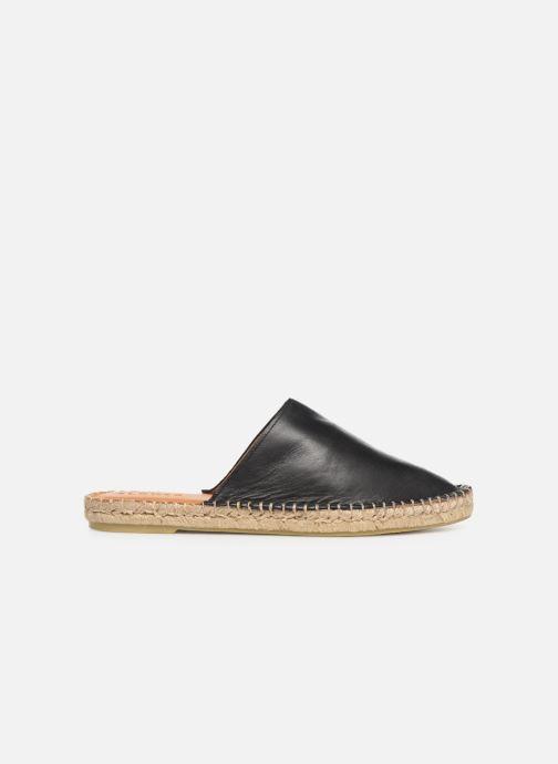 Wedges Alohas Sandals Babucha Zwart achterkant