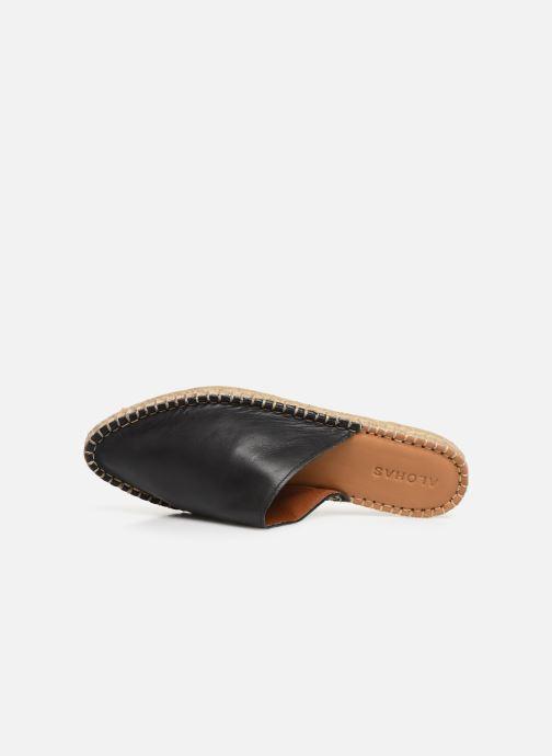 Wedges Alohas Sandals Babucha Zwart links