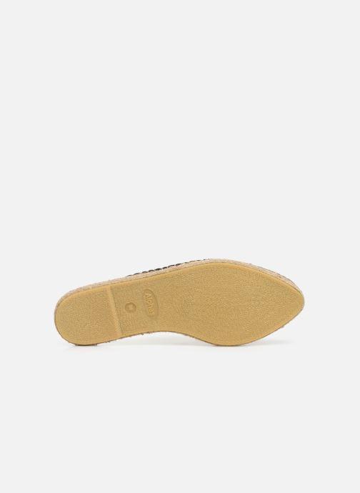 Wedges Alohas Sandals Babucha Zwart boven