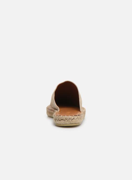 Wedges Alohas Sandals Babucha Beige rechts