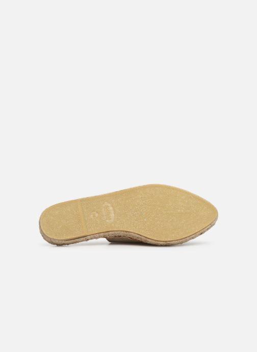 Wedges Alohas Sandals Babucha Beige boven