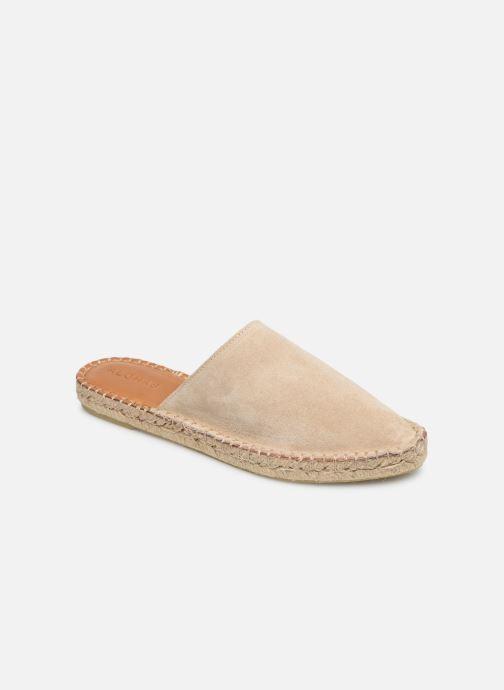 Wedges Alohas Sandals Babucha Beige detail