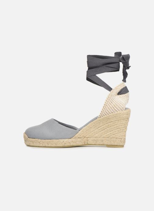 Espadrilles Alohas Sandals Clara by day Grijs voorkant