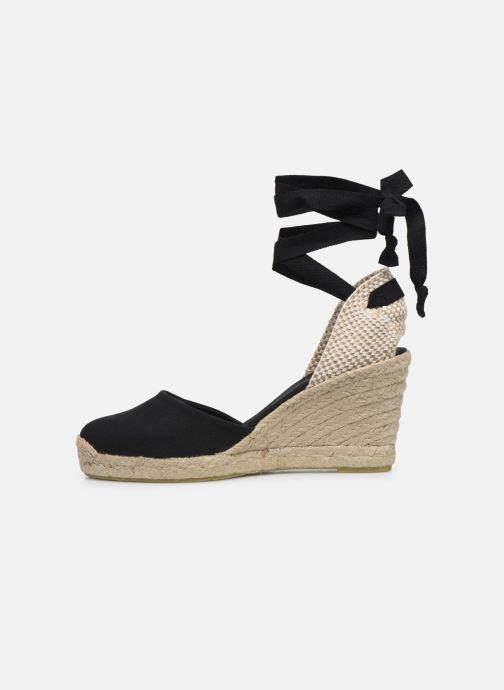 Scarpe di corda Alohas Sandals Clara by day Nero immagine frontale