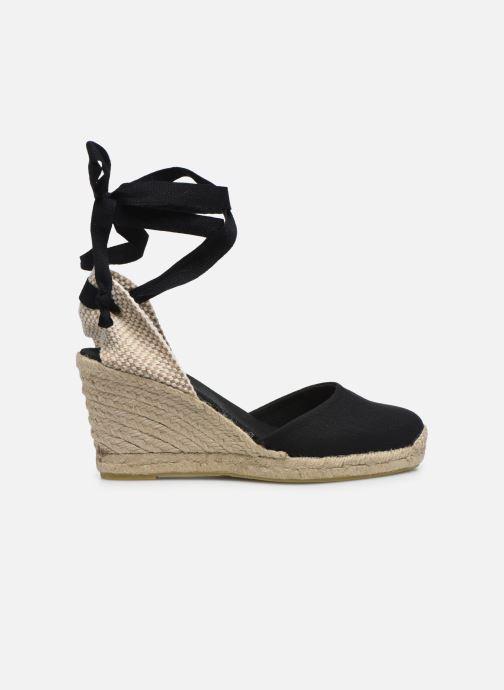 Scarpe di corda Alohas Sandals Clara by day Nero immagine posteriore