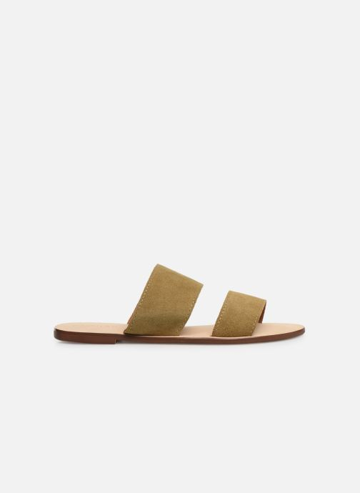 Mules et sabots Alohas Sandals Alice Vert vue derrière