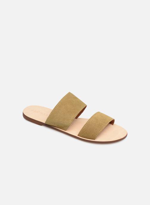 Mules et sabots Alohas Sandals Alice Vert vue détail/paire