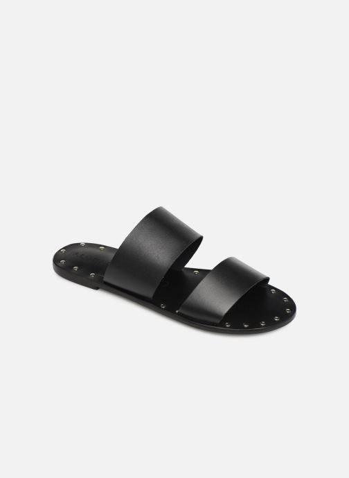 Wedges Alohas Sandals Alice Studded Zwart detail