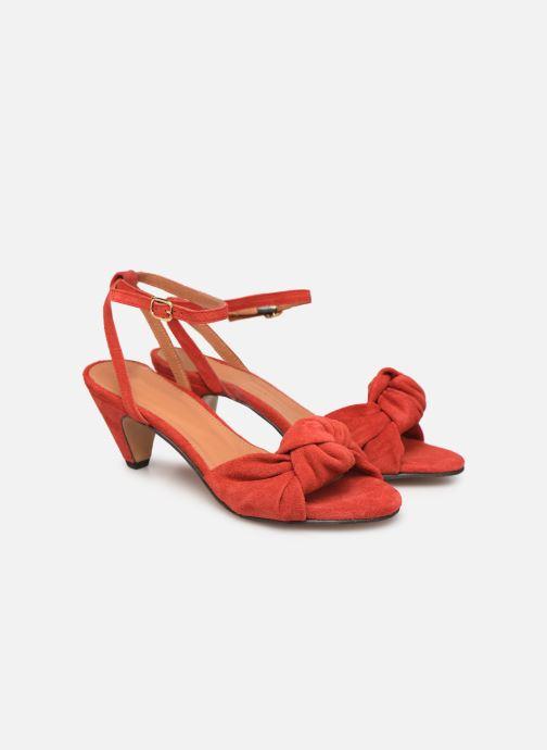 Sandales et nu-pieds Anonymous Copenhagen Aliza Rouge vue 3/4