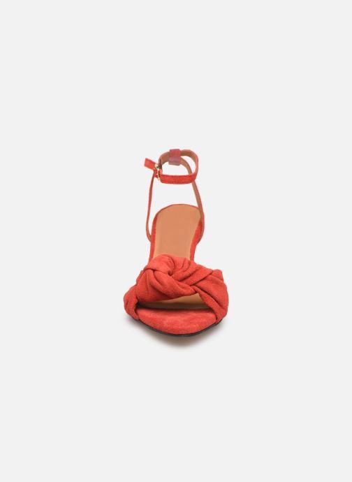 Sandales et nu-pieds Anonymous Copenhagen Aliza Rouge vue portées chaussures