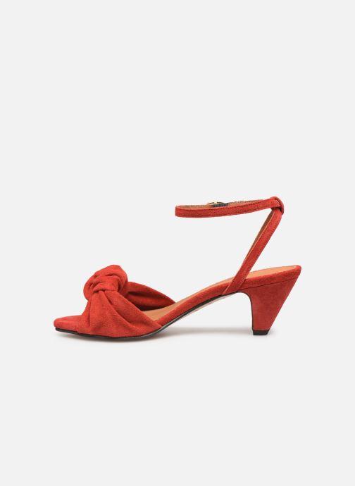 Sandales et nu-pieds Anonymous Copenhagen Aliza Rouge vue face