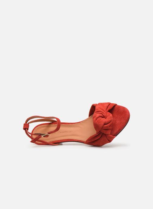 Sandales et nu-pieds Anonymous Copenhagen Aliza Rouge vue gauche