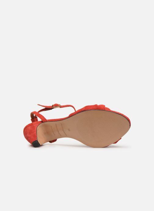 Sandales et nu-pieds Anonymous Copenhagen Aliza Rouge vue haut
