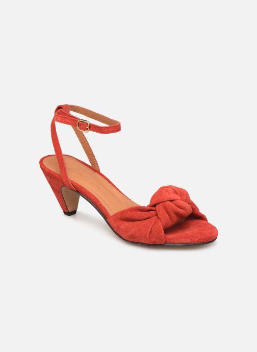 Sandales et nu-pieds Anonymous Copenhagen Aliza Rouge vue détail/paire