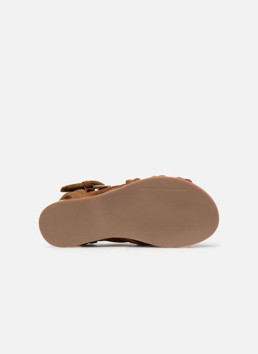 Sandales et nu-pieds Anonymous Copenhagen Betty Marron vue haut