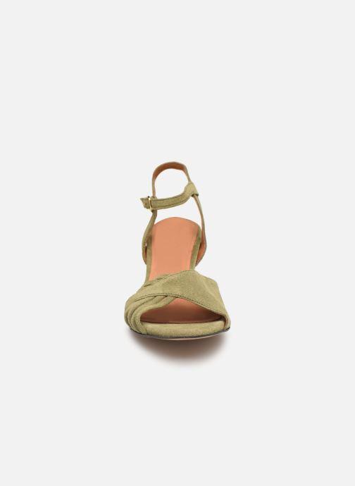 Sandales et nu-pieds Anonymous Copenhagen Hermine Vert vue portées chaussures