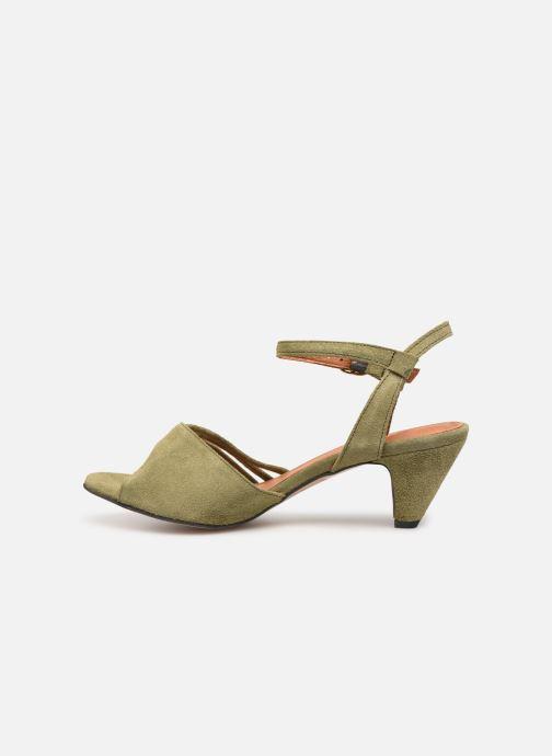 Sandales et nu-pieds Anonymous Copenhagen Hermine Vert vue face