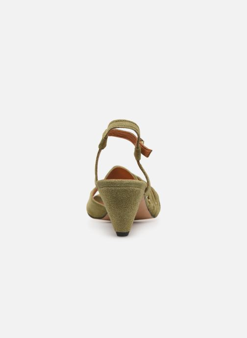 Sandals Anonymous Copenhagen Hermine Green view from the right
