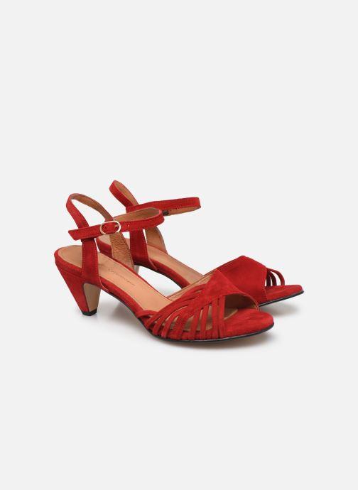Sandales et nu-pieds Anonymous Copenhagen Hermine Rouge vue 3/4