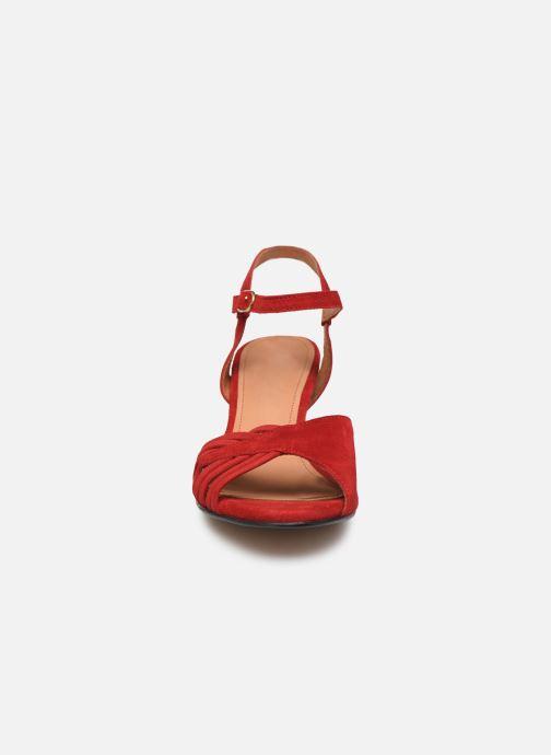 Sandales et nu-pieds Anonymous Copenhagen Hermine Rouge vue portées chaussures