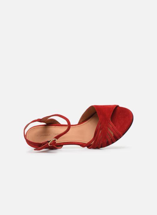 Sandales et nu-pieds Anonymous Copenhagen Hermine Rouge vue gauche