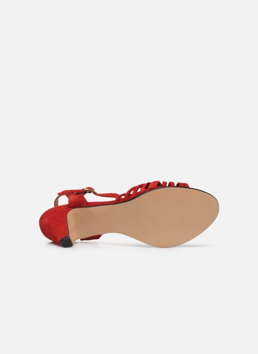 Sandales et nu-pieds Anonymous Copenhagen Hermine Rouge vue haut
