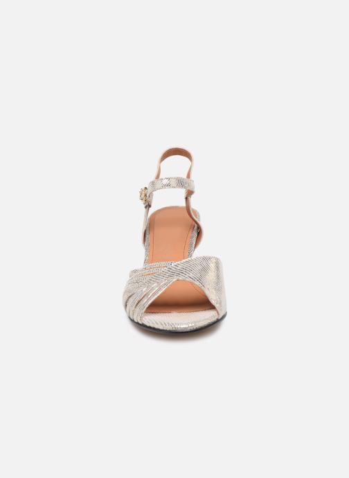 Sandales et nu-pieds Anonymous Copenhagen Hermine Argent vue portées chaussures