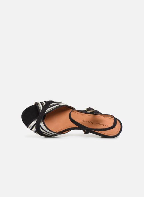 Sandales et nu-pieds Anonymous Copenhagen Kirsti Bleu vue gauche