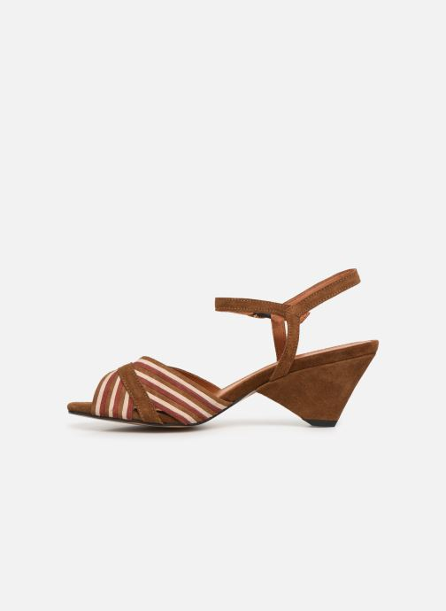 Sandals Anonymous Copenhagen Kristine Brown front view